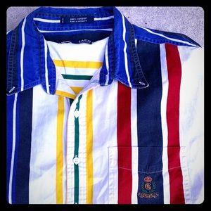 Vintage Chaps Ralph Lauren vertical striped shirt
